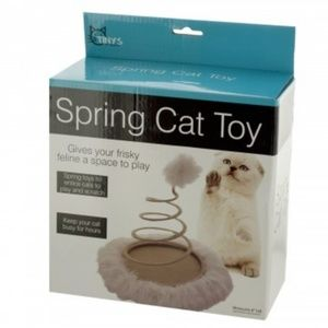 Furry Spring Cat Toy